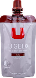U Gel 1:0,8 - Cola + koffein - Skruvkork (70g/55ml)